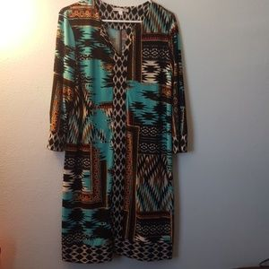 Multi-color dress
